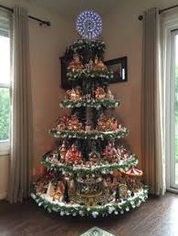 Christmas Tree Village Display Stands From House to Home LEMAX Village projects Pinterest Lemax 12