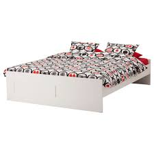ikea brimnes bed. IKEA BRIMNES Bed Frame Adjustable Sides Allow You To Use Mattresses Of Different Thicknesses. Ikea Brimnes E