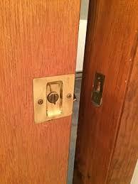 pocket recessed door handle