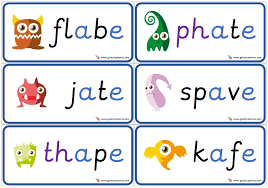 This digraph set of phonics worksheets and phonics activities focus on digraphs with short vowels. Free Set Of 6 Cards Showing A E Split Digraph Alien Words Nonsense Words Great For Consolidation In Phonics Interventions Digraphs Activities Alien Words