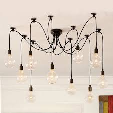 observatory lighting replica 8 head thomas edison bulb chandelier pendant
