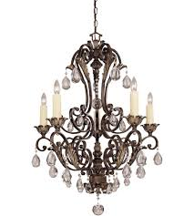 savoy house crystal res nefertiti 5 light chandelier in moroccan bronze 1 719 5 241