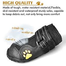 Qumy Dog Boots Size Chart