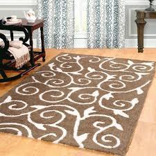large white area rug large round white rug