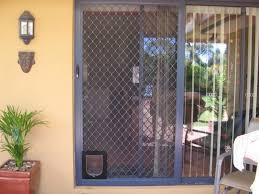 security screen doors. Doors, Wonderful Security Sliding Screen Doors Aluminium Grille Door Wall: