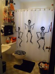 Halloween Scene Kids Small Bathroom Decoration