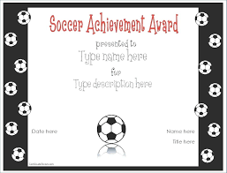 Free Printable Award Certificate Template Sports Templates For Word ...