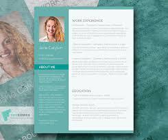 Fancy Resume Templates Beauteous Classy Emerald A Fancy Word Resume Template Freebie Freesumes