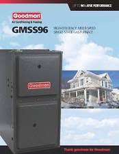 goodman 80000 btu. goodman 96% single stage 100k btu gas furnace 5 ton gmss961005cn 80000 btu