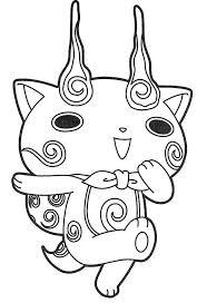 New coloring pages most populair coloring pages by alphabet online coloring pages coloring books. Coloriage Yo Kai Watch Komasan Coloring Pages Yo Kai Watch 2 Kai