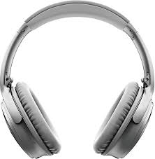 bose noise cancelling headphones white. bose quietcomfort 35 series ii wireless noise cancelling headphones (silver) | focus camera white c
