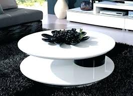 round coffee table decor modern tables best white ideas on living room with regard to