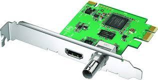Blackmagic Design Decklink Sdi 4k Blackmagic Design Decklink Mini Recorder Pcie Capture Card For 3g Sdi And Hdmi