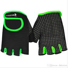 1pair x cycling bike bicycle half finger gloves 100 new invisible easy pull design fortable breathable attractive appearance good for cyclists tra
