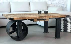 industrial coffee table legs coffee table industrial furniture brown rectangle wooden industrial style coffee table with