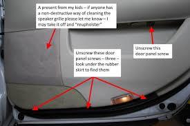 diy door inner handle lock cable repair 2001 ls430 04 door