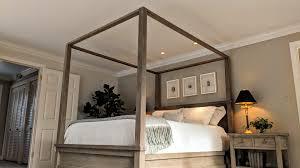 Design Incredible Summer Sales Onarmhouse Canopy Cal King Gray Wash ...
