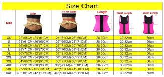 Jsculpt Fitness Size Chart Snatch My Waist Cinching Waist Trainer Fitness Weight