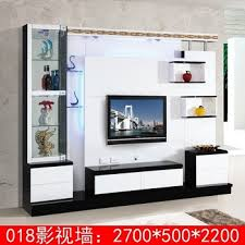 living room corner lcd tv stand wooden furniture 018# modern tv wall unit  furniture