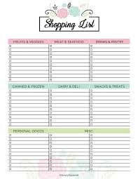 free menu planner 2019 meal planner free printable simply stacie