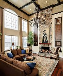 Lighting For Living Rooms High Ceiling Rooms And Decorating Ideas For Them
