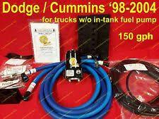 cummins lift pump cummins 5 9l diesel 98 5 02 150 gph lift pump kit airdog raptor