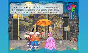 princess and the pea book. princess and pea book for kids- screenshot the