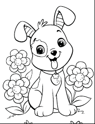 Coloring Page Puppy Visitpollinoinfo