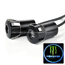 Aliexpress Com Buy Monster Energy Logo Led Car Door Lights High