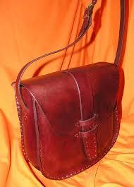 custom made hand nailed leather handbag model nb013a