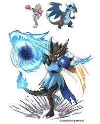 OC] The Dragon Punch Pokemon, Mega Hitmonzard X! Randomly generated this  cool combo: pokemon