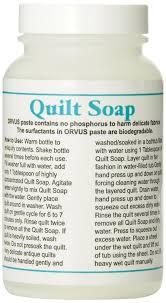 Orvus Quilt Soap 8 Ounce QuiltersRule Terrific Tips