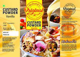 Bakery Ingredients Custard Powder Manufacturer From Mumbai