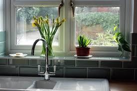 kitchen window sill decor. Interesting Kitchen Kitchen Window Sill Plants On Windowsill Kitchen Decor Ideas Throughout Window Sill Decor