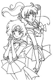 duos030 tsuki matsuri the sailormoon coloring book archive on scribbles coloring book