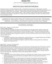 Legal Assistant Resume Samples Secretary Resume Sample Legal ...
