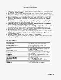 Quality Analyst Resume Full Imagine Sample Qa Page 001 Resumes