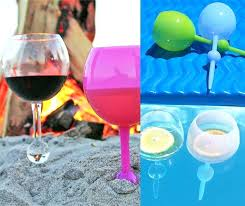 st s design style diy beach wine glass candle holders