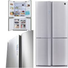 sharp french door fridge. sharp-sjfp676vsl-676-litre-refrigerator sharp french door fridge f