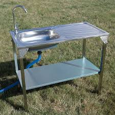Outdoor Kitchen Sink Station Outdoor Kitchen Sink Unit Ideal For Barbecue Bbq Camping Events