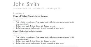Simple Resume Template Microsoft Word Easy Good Basic Sample