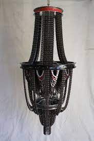 bicycle chain chandelier reuse bike idea lamp
