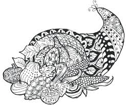 Happy Thanksgiving Coloring Page Rubyprintsco