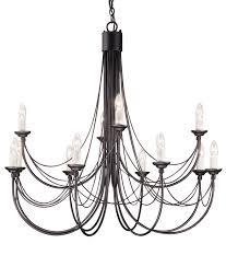candelabra style gothic chandelier