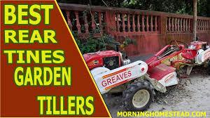 top 5 best rear tine garden tillers 2019 reviews