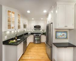 Amazing of Narrow Kitchen Ideas 22 Stylish Long Narrow Kitchen Ideas  Godfather Style