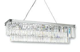 odeon glass fringe rectangular chandelier retro glass fringe rectangular chandelier chandeliers lighting chrome finish wide odeon