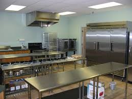 Small Commercial Kitchen Design And Kitchen Tile Floor Designs By