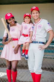 family a league of their own costumes