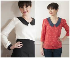 Sew Over It Patterns Delectable Sew Over It Susie Blouse Susie Blouse